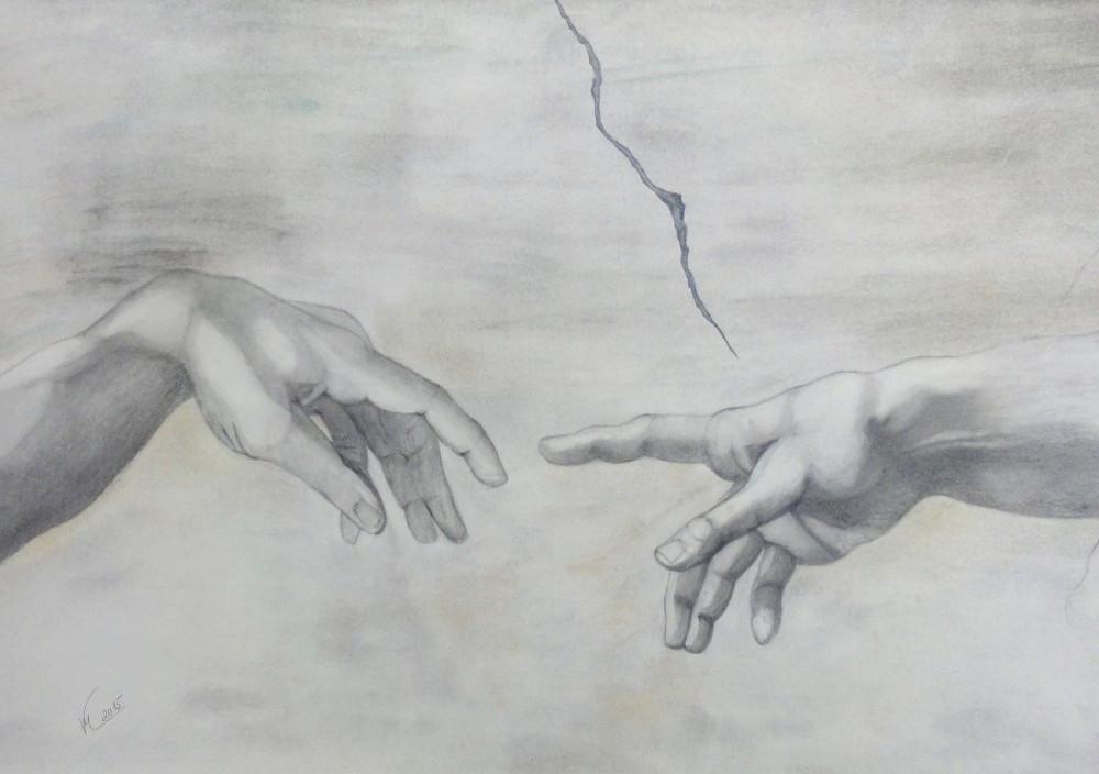 Grußkarte Michelangelo